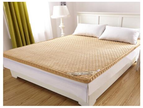 立体加厚6cm竹炭纤维床垫床褥子