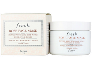 Fresh Rose faceMask天然玫瑰花补水保湿面