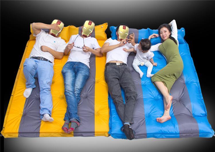 喜登乐 带枕头双人气垫DZ-420