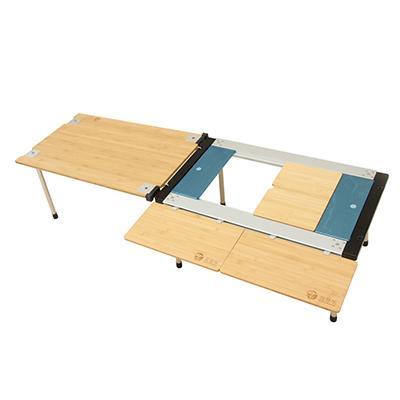 喜登乐 竹板折叠桌 IGT中号套装