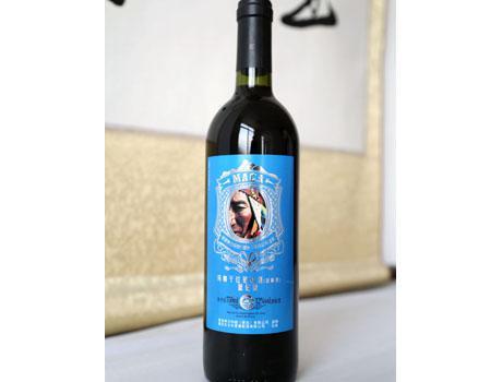 东方华夏玛咖蓝钻葡萄酒 750ml*6瓶/件 包邮