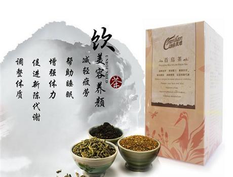 【台湾原地 迦南美地】首乌保健茶盒装