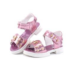 哈比熊童鞋 2015夏季新款女童凉鞋韩版潮可
