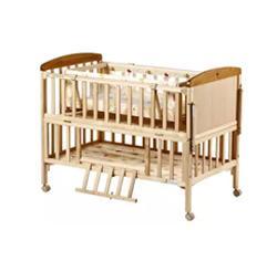 好孩子Goodbaby多功能环保实木无漆婴儿床带