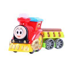 贝恩施 儿童玩具 托马斯积木益智玩具轨道火