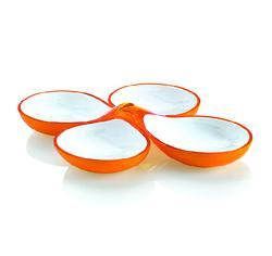 意大利进口圆形四碟果盘