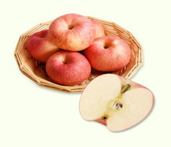 水道牌有机红富士苹果(果径80-90)/10斤