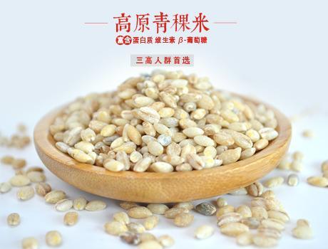 青稞米高原白青稞米西藏特产青稞米2500g