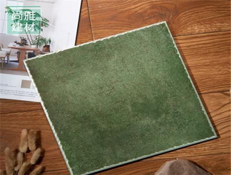 墨绿色仿古砖300厨房卫生间墙砖地砖地中海