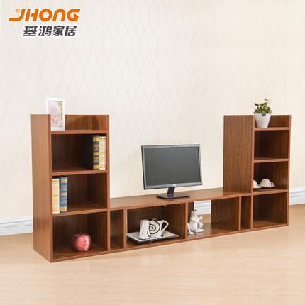 基鸿电视柜茶几组合套装现代简约 小户型客厅多功能创意地柜特价