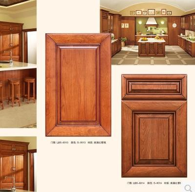 积木厨具双饰面门板吸塑门板实木门板