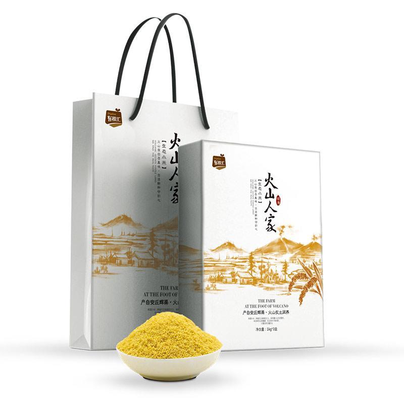 有机汇-火山小米精品礼盒 3KG