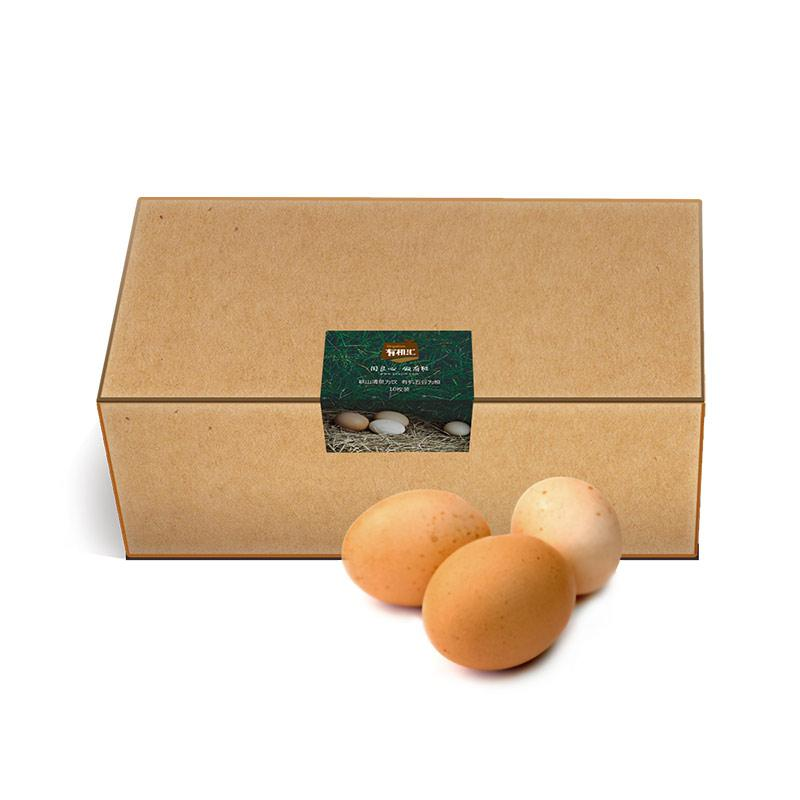 有机汇-散养土鸡蛋家庭装 30枚