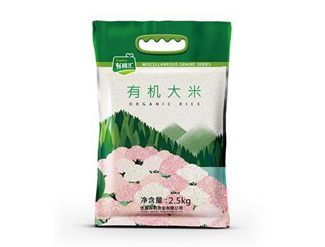 有机汇-优选五常核心产区有机稻花香大米 2.5KG