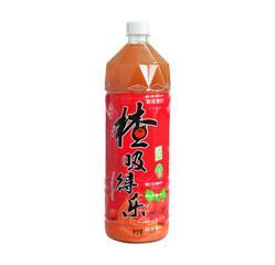 楂吸得乐山楂果汁果肉饮料(1250mlX6瓶)